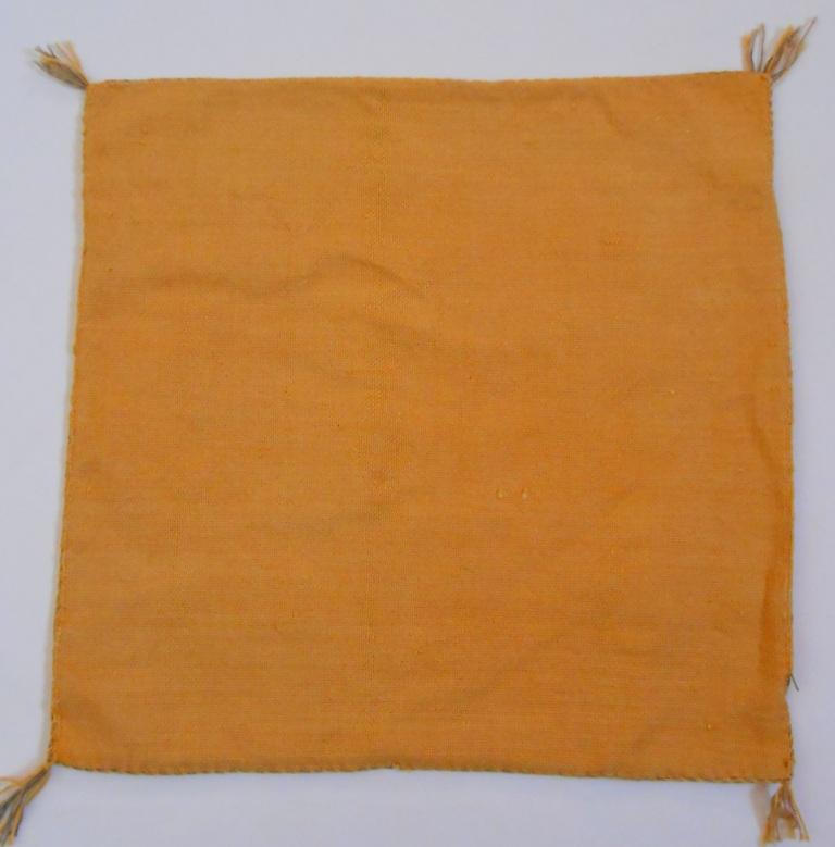Housse de coussin SABRA jaune d'or